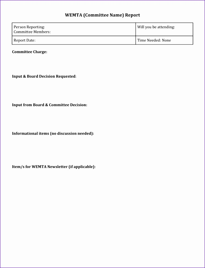 Finance Report Template  FiveoutsidersCom