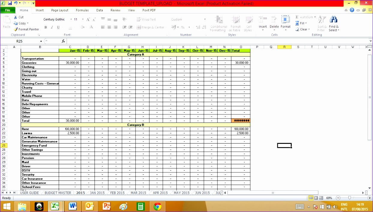 10 personal monthly budget template excel exceltemplates monthly budget template excel 50 30 20 bud spreadsheet 1243706 alramifo Choice Image
