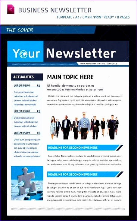 business newsletter templates free 455730