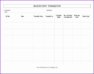Inventory Transfer 330258