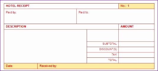 receipt templates 534240