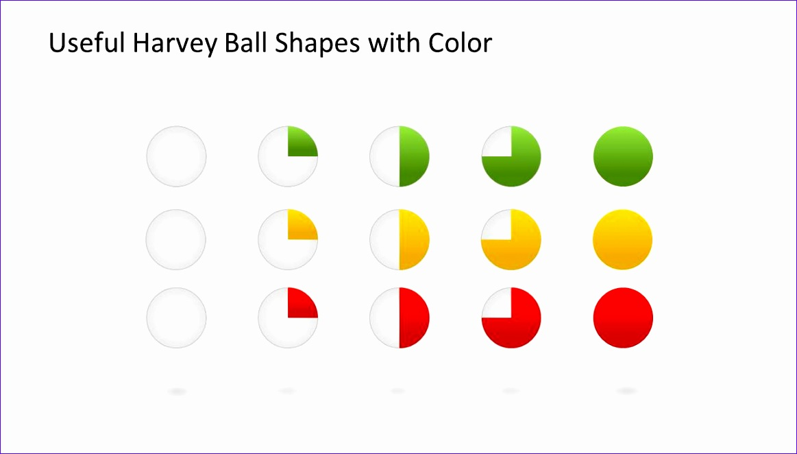 harvey ball shapes powerpoint