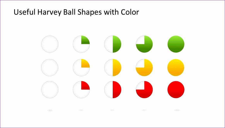 harvey ball shapes powerpoint