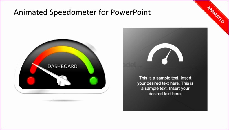 animated gauge template for powerpoint dashboard 791449