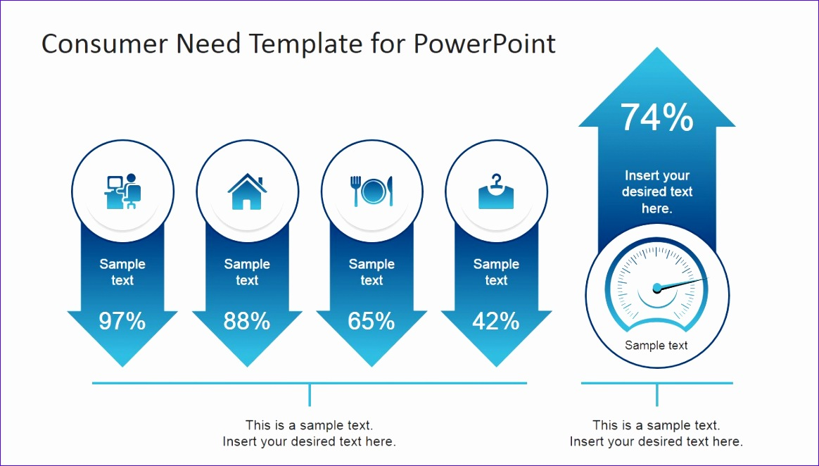 consumer need powerpoint template 1164662