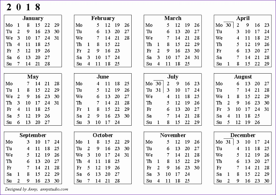 weekly calendar 2018 1776 910644