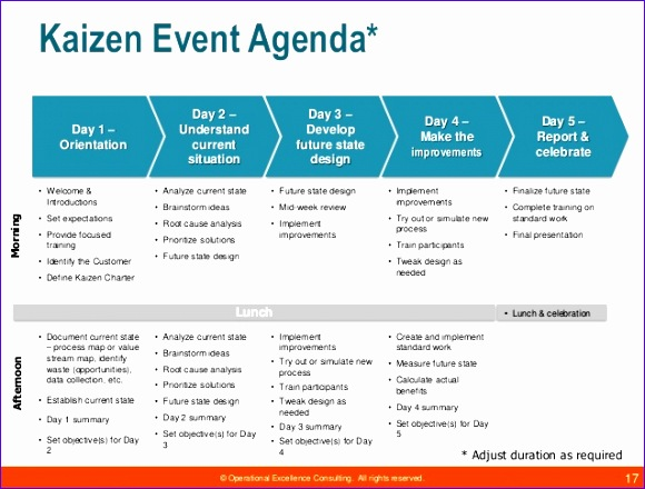 kaizen event guide by operational excellence consulting 580440