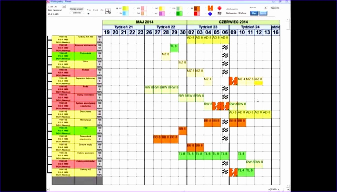 11 production scheduling excel template