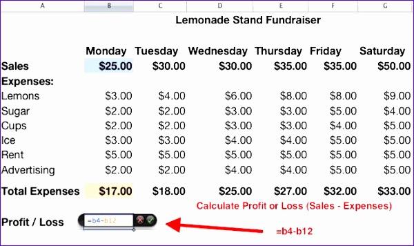 numbers lemonade stand 600356