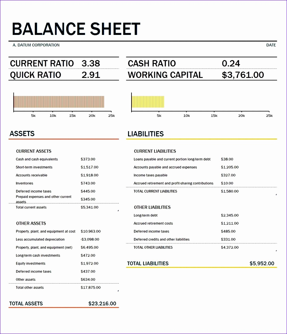 accounting balance sheet template 9211072