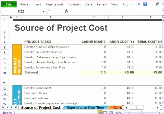 Project Budget Excel Template Exdqp Elegant Best Project Management