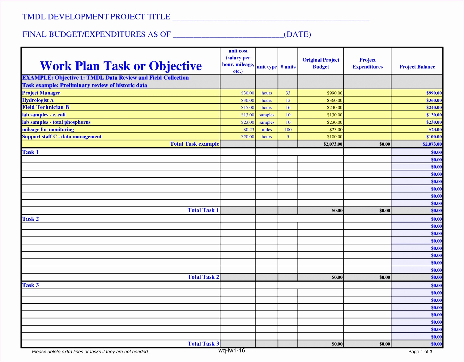 projected budget template excel - 10 project budget excel template exceltemplates