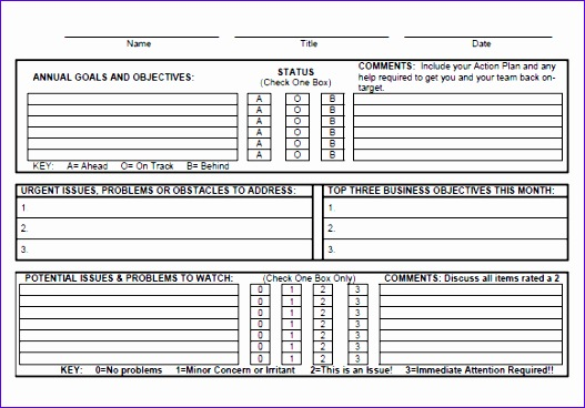 sample goal tracking 527368