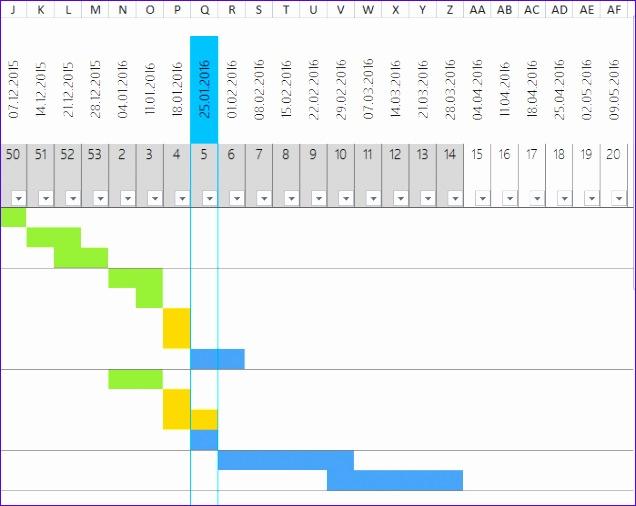 einfacher projektplan als excel template 636506