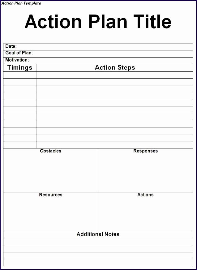 action plan template 637873