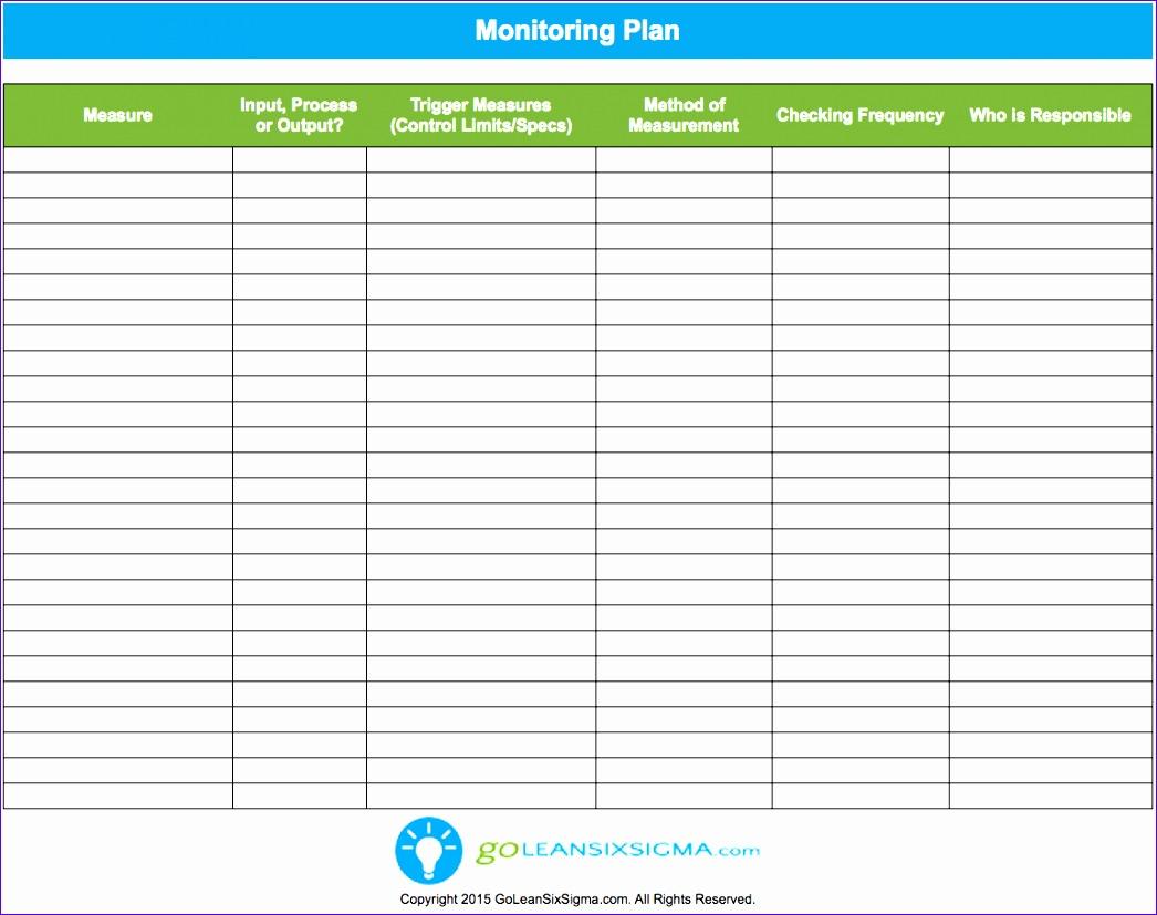 monitoring plan 1046827
