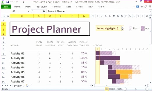 8 project management template excel free download for Project activity plan template