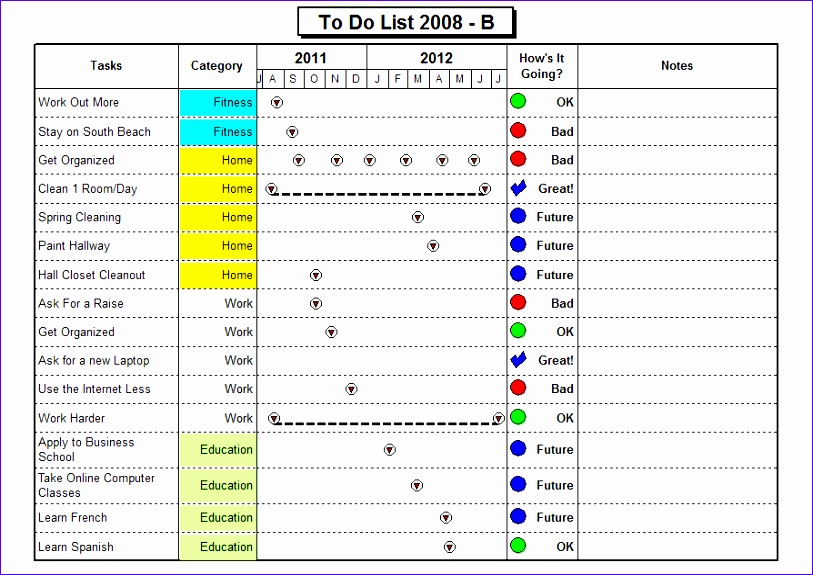 to do list examples 461