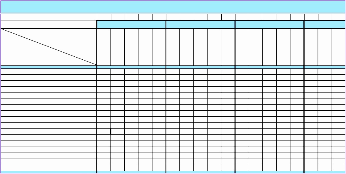 14 project matrix template excel exceltemplates