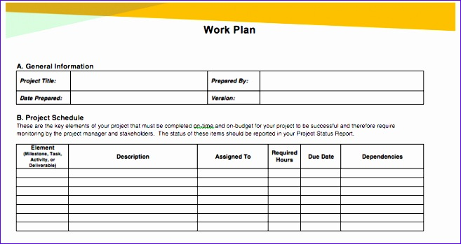 awesome project management schedules 657349