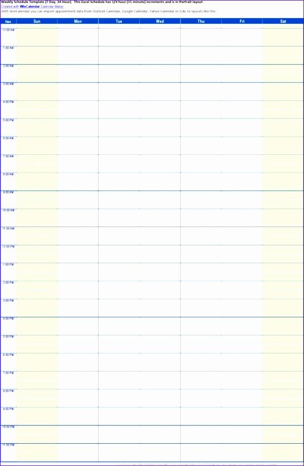 project schedule calendar template 614942