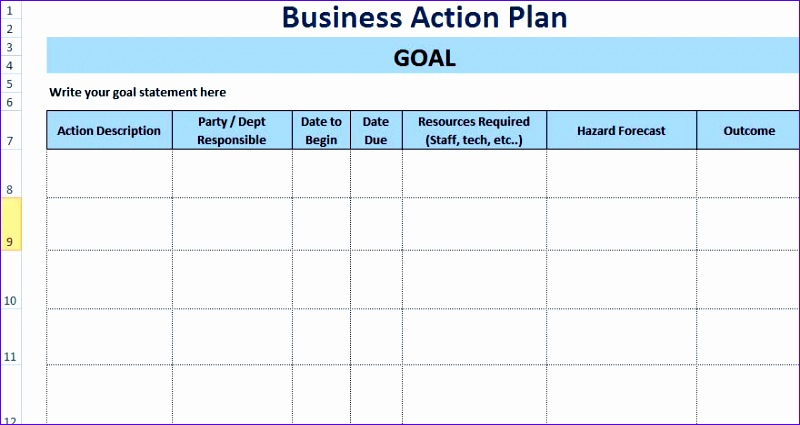 Project Planning Template Excel Free Gkwkx Unique 3 Free Project Action Plan Template Xls Free Excel 880463