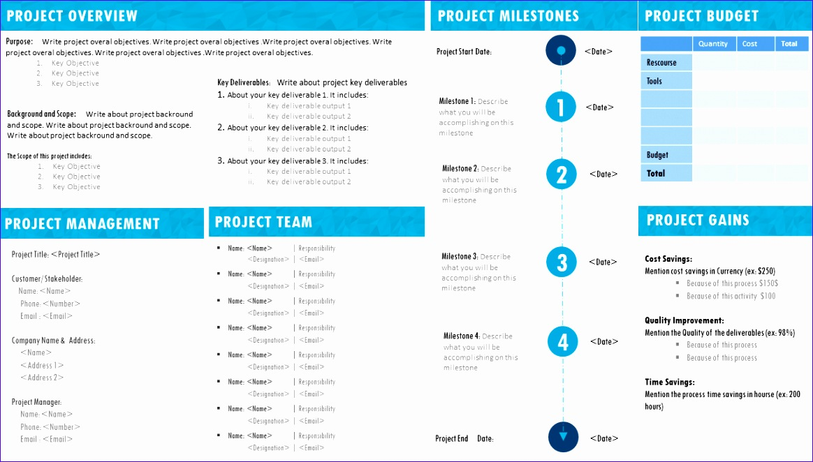 Project Portfolio Management Excel Template Wgaza Awesome Project