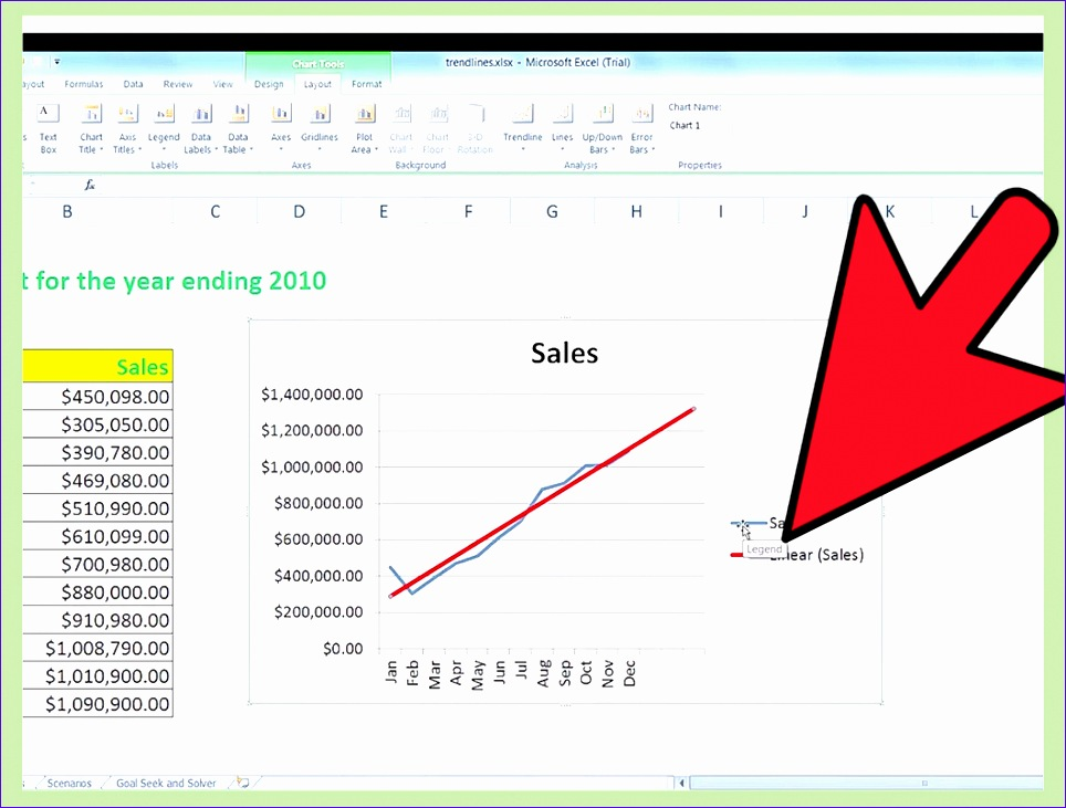 Do Trend Analysis in Excel 964731