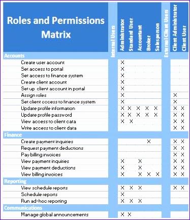 roles permissions matrix 374432