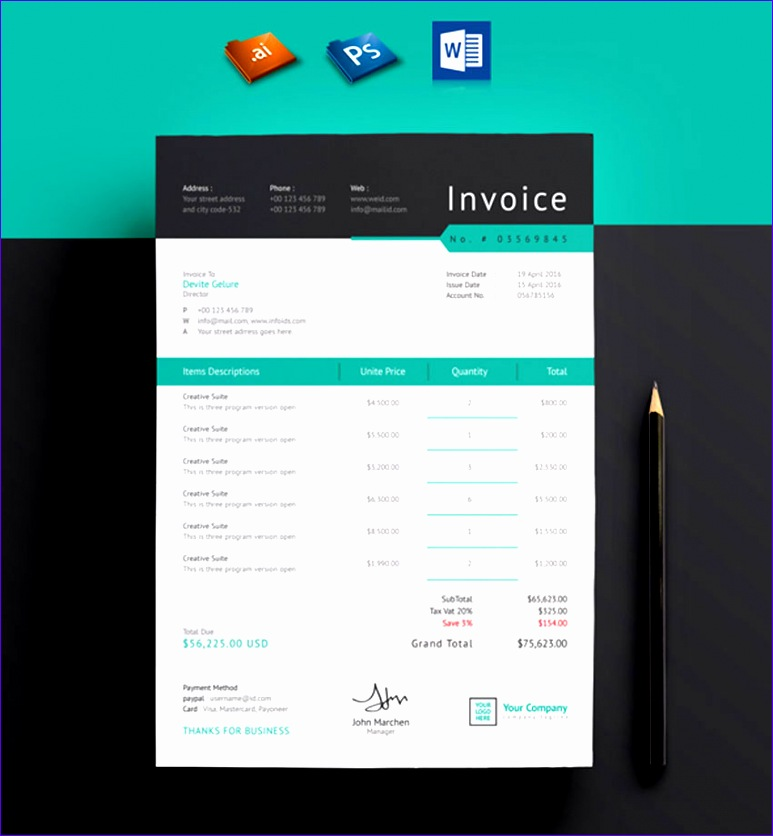 35 invoice templates cms 773836
