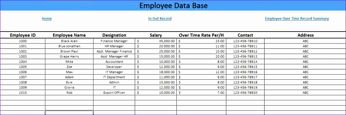 employees timesheet with overtime template excel 1104368