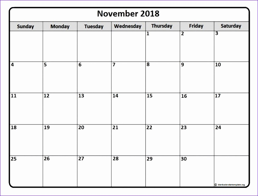 november 2018 printable calendar 3221 879666