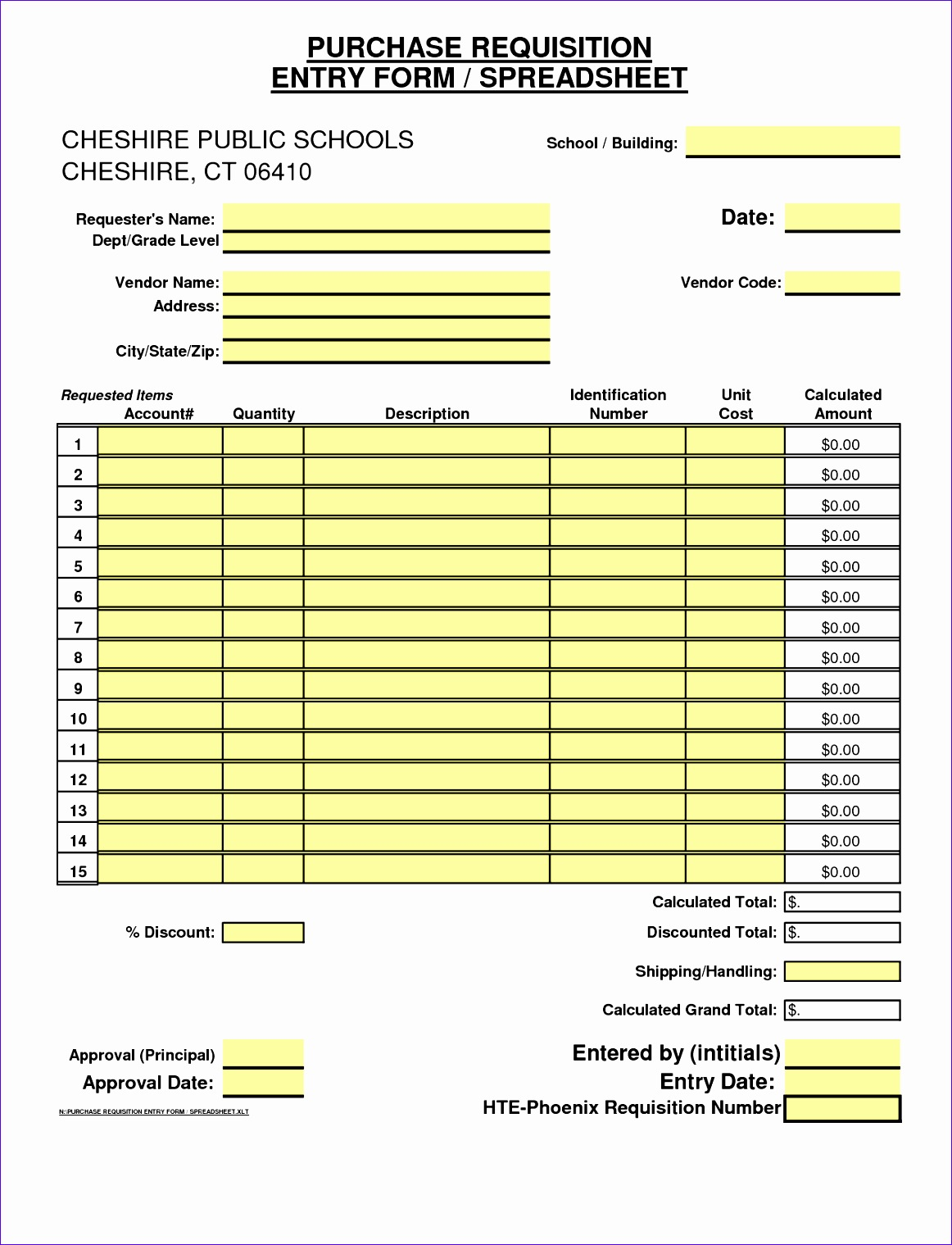 8 excel form templates