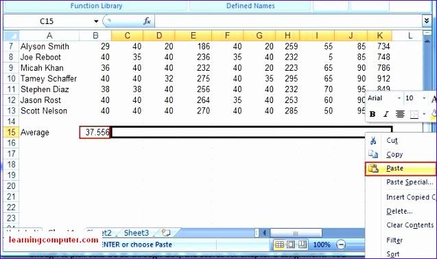 microsoft excel 2007 formulas tab 637377