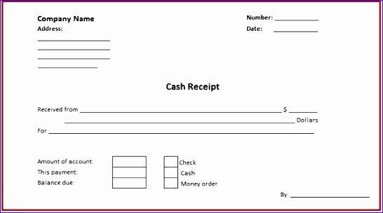 a free cash receipt template for word or excel 13 546304