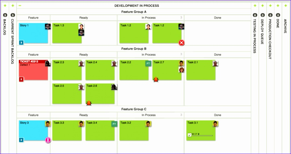 kanban board examples for development and operations 931495