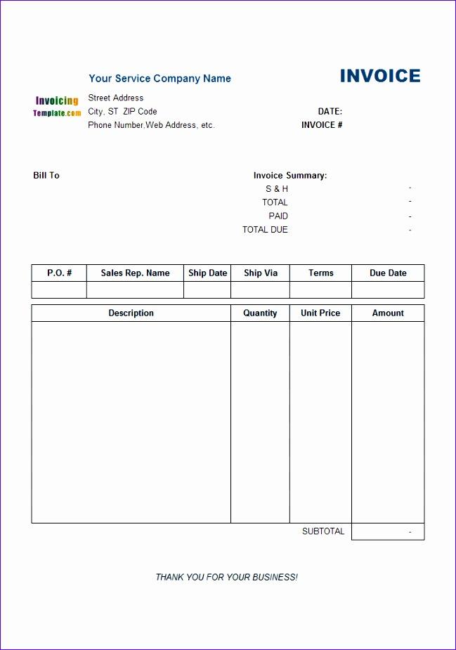 service invoice payment advice 649925