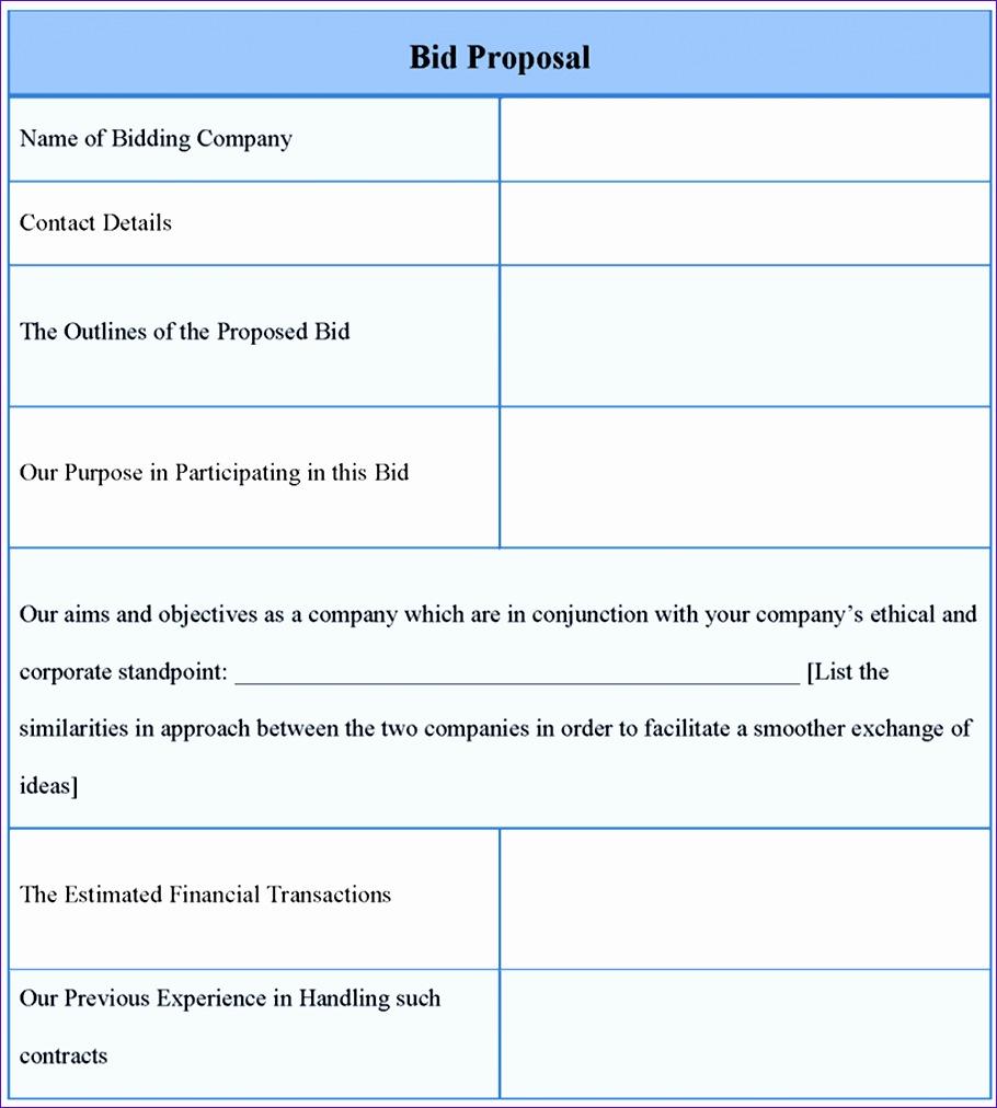 free proposal forms 9101012