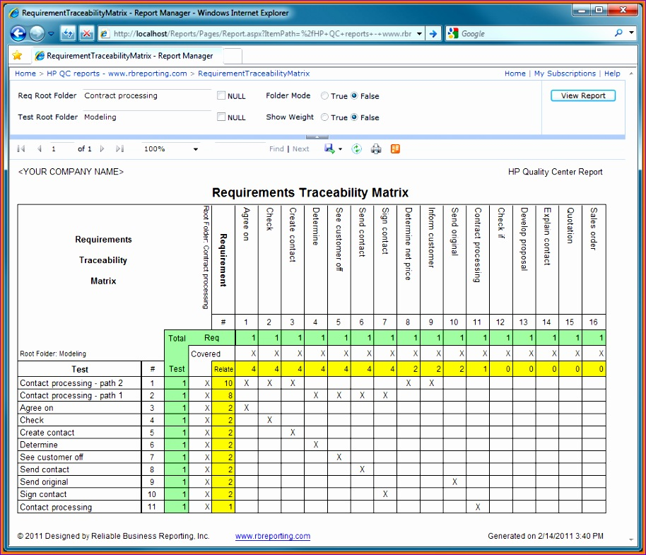 6 requirements traceability matrix template excel