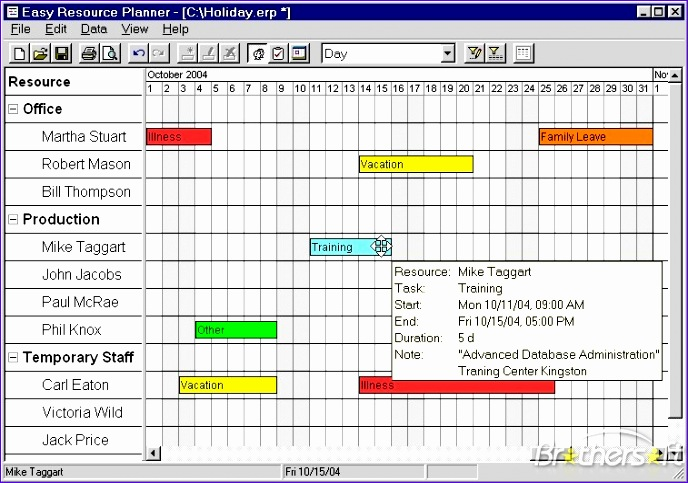 easy resource planner 3374 688483