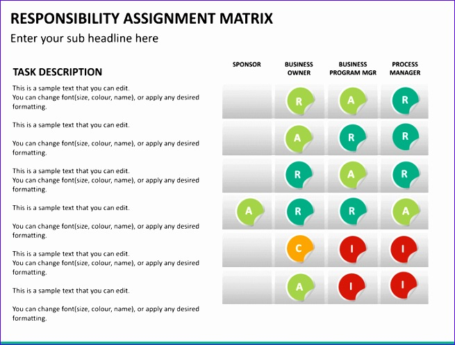 powerpoint responsibility assignment matrix 655496