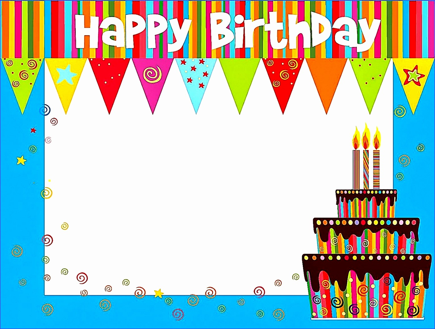 birthday cards template 13951055