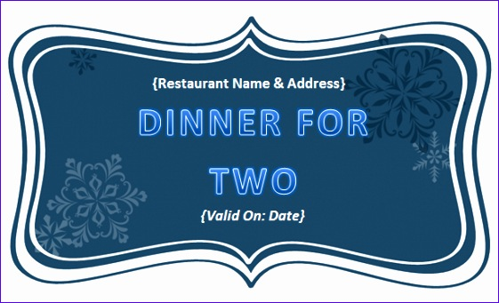 post food voucher template in pdf