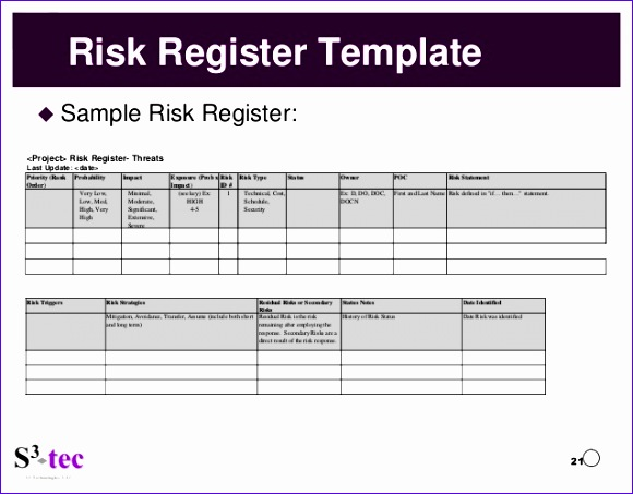Risk Management Template Excel  Exceltemplates  Exceltemplates