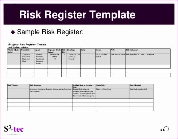 8 Risk Management Template Excel Exceltemplates Exceltemplates