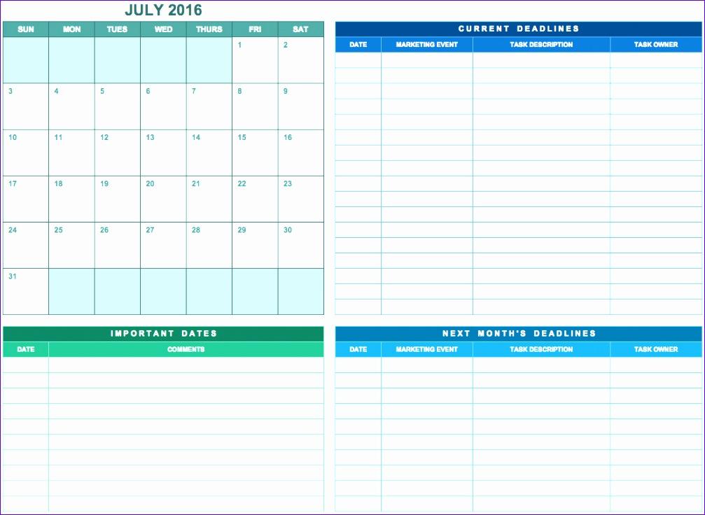 marketing calendar excel template 286 1007736