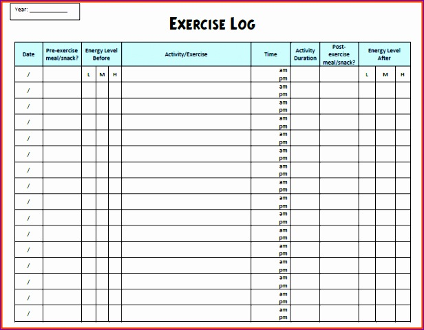 12 running log excel template exceltemplates for Running training calendar template