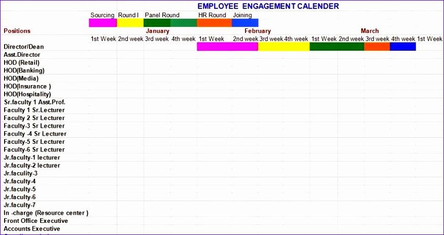 employee engagement calendar format 875464