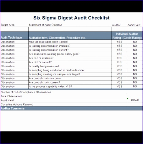 38 brilliant template samples for audits 455460