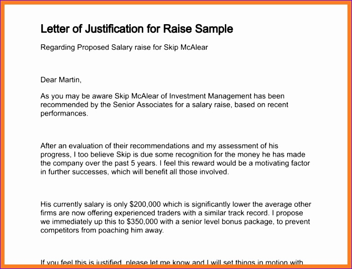 5 sample memo for salary adjustment 700535